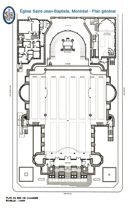 plan general eglise